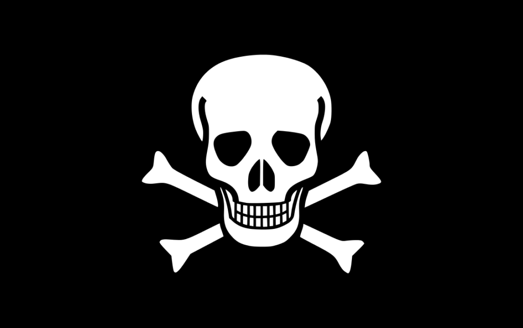 Jolly Roger traditional - OpenclipartORG